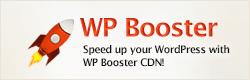 WP Booster - WordPressが驚くほど高速に生まれ変わります。